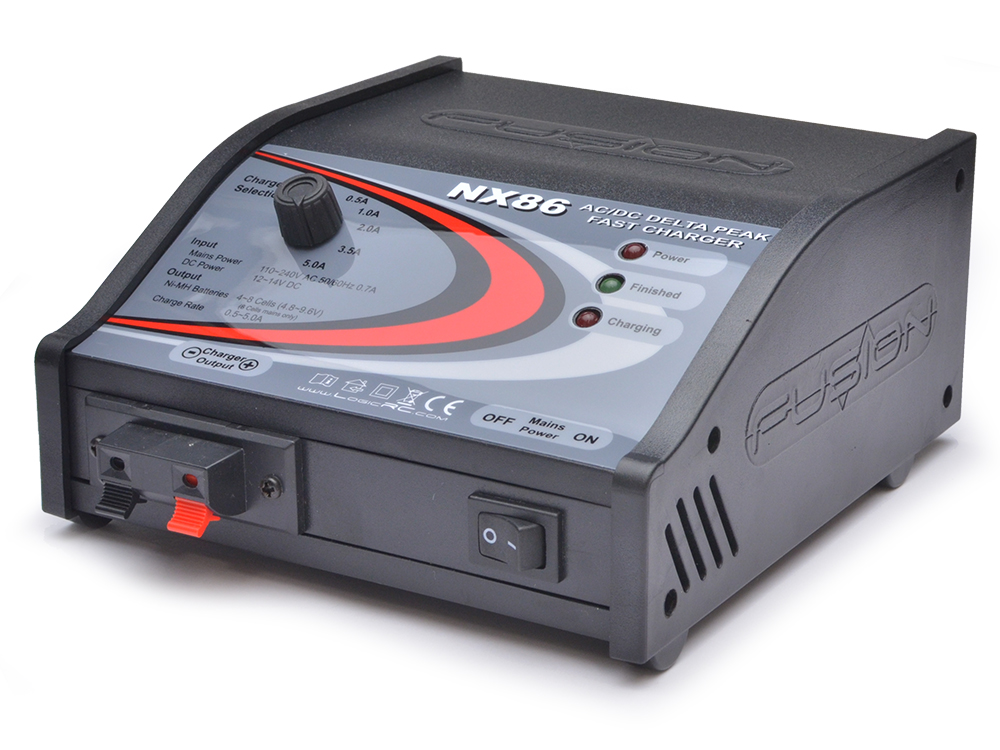 Fusion Vector NX86 Delta Peak AC/DC Fast Charger O-FS-NX86