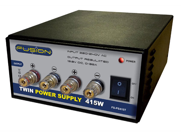 Fusion 415W 13.8V Twin Power Supply O-FS-PS415T