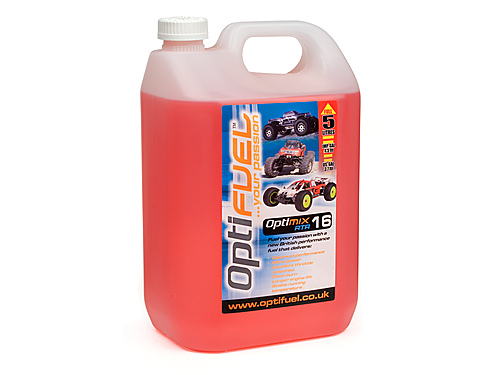 Optifuel Optimix Rtr 16% Nitro Car Fuel 5 Litres  OP1003
