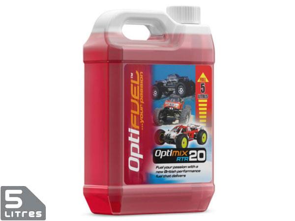 Optifuel Optimix Rtr 20% Nitro Car Fuel 5 Litres OP1006