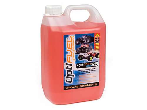 Optifuel Optimix Rtr 25% Nitro Car Fuel 2.5 Litres  OP1008