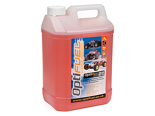 Optifuel Optimix Rtr 25% Nitro Car Fuel 5 Litres  OP1009