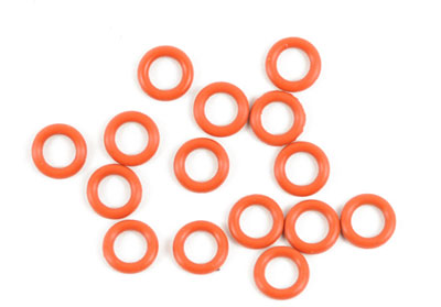 Kyosho Silicone O Ring P6/Orange (15) ORG06