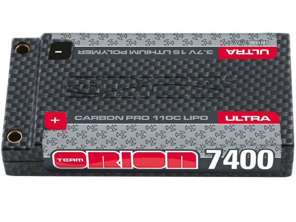 Orion Carbon Pro 7400mAh 3.7v 1s LiPo Battery 110C ORI14086