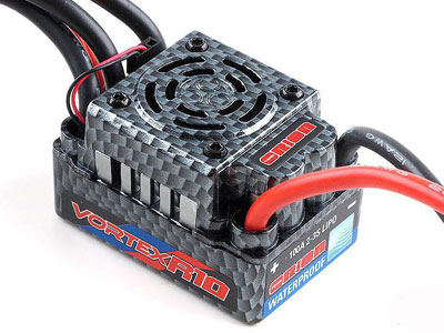 Image Of Orion Vortex R10 SC WP Brushless ESC (100A, 2-3S)