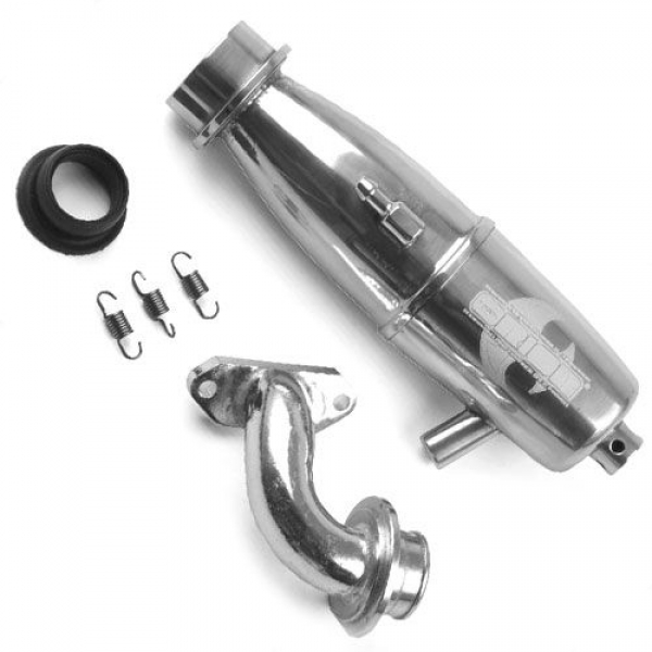 Orion In-Line Tuned Exhaust System - Fazer ORI88014