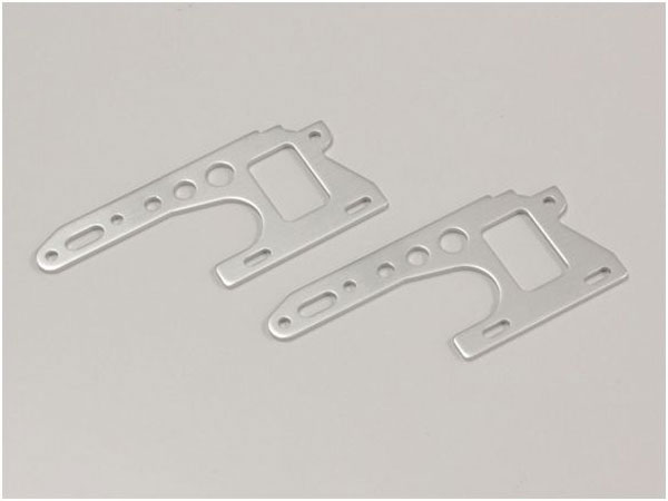Kyosho Front Side Plate (Silver/2pcs/Optima)  OT214S