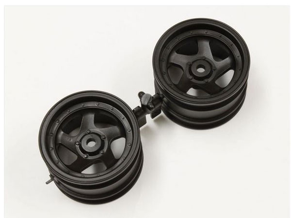 Kyosho 5sp Wheel 43mm (black/2pcs/Optima)  OTH244BK
