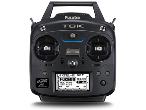 Futaba T6K 6 Channel 2.4GHz T-FHSS (Dry) and R3006SB Combo (Mode 2) P-CB6K/L
