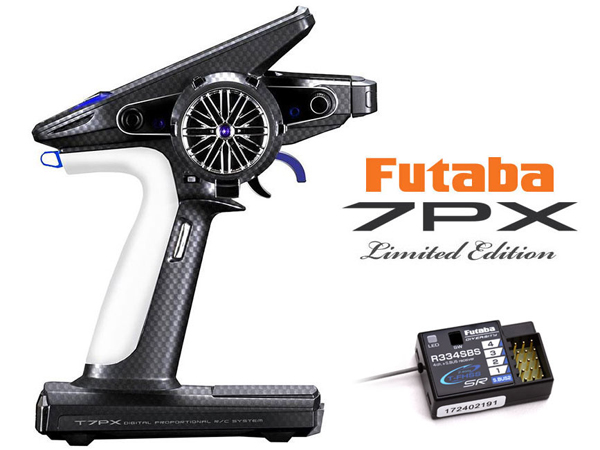 Futaba T7PXR Limited Edition 7-Ch. 2.4GHz Transmitter and R334SBS Rx Combo P-CB7PXR