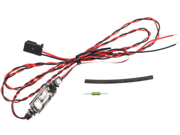 Futaba FASSTest Telemetry Temperature Voltage Sensor 0-100v P-SBS/01V