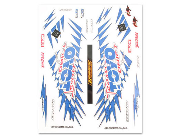 Matrixline Toyo Tires D1 Style Drift Decal Set PC-A009