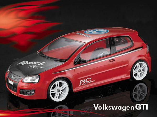 Matrixline Volkswagen Golf Gti Mk5 Clear Body Shell 190mm