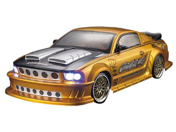 Matrixline Ford Mustang Clear Body 190mm with Accessories PC201012