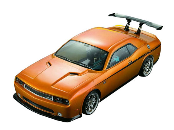 Matrixline Dodge SRT8 Clear Body 190mm with Accessories PC201205