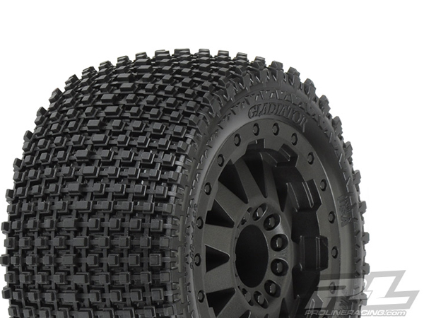 Pro-Line Gladiator 2.8'' (Traxxas Style Bead) All Terrain Tyres Mounted PL10102-11