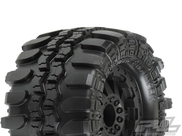 Pro-Line 3D Interco TSL SX Super Swamper 2.8 (Traxxas Bead) All Terrain Tyres Mounted F-11 Wheels PL10110-14