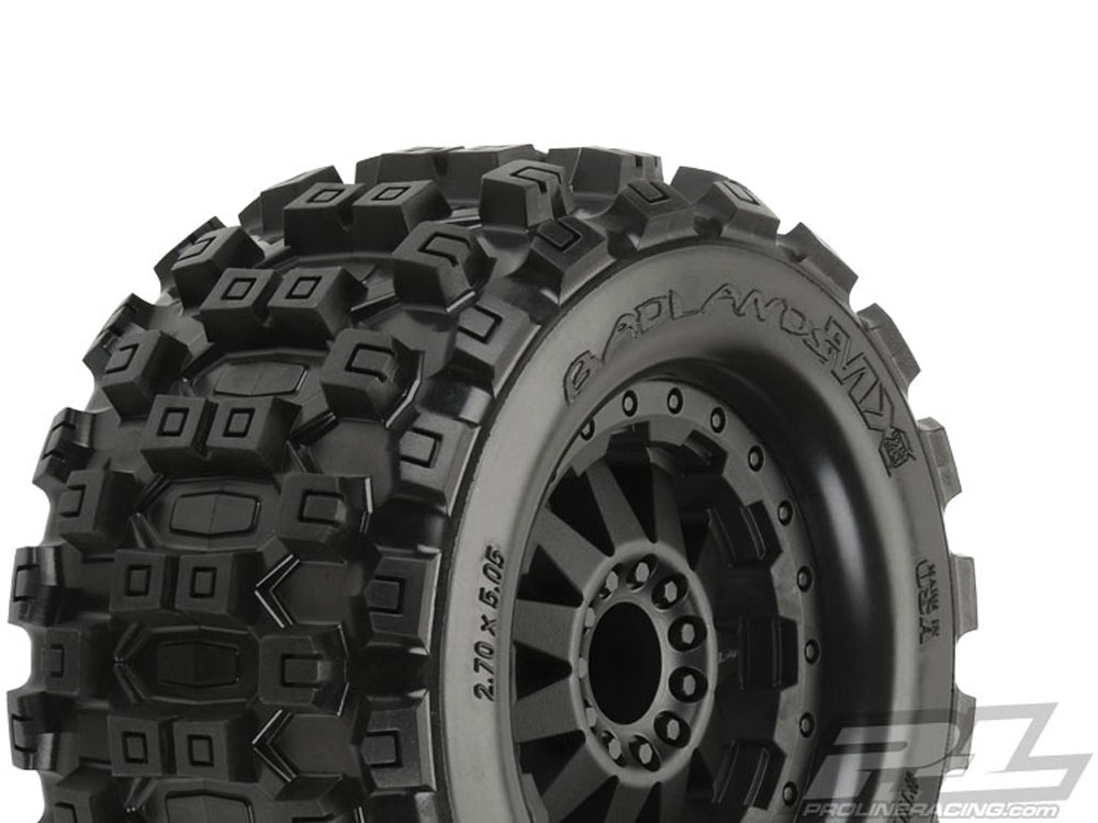 Pro-Line Badlands MX28 2.8in All Terrain Tyres for 2wd Front/ 4wd Front and Rear PL10125-14