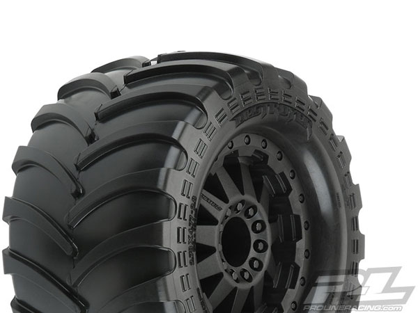 Pro-Line Destroyer 2.8 (Traxxas Style Bead) All Terrain Tires Mounted (2WD Front/ 4x4 FR) PL10129-14