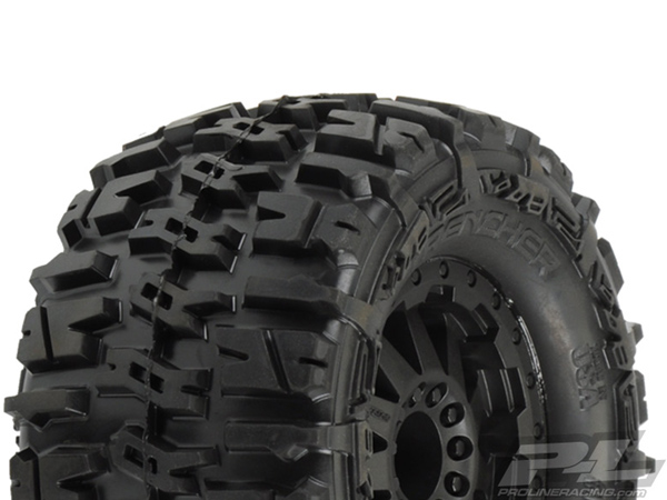 Pro-Line Trencher 2.8 (Traxxas Style Bead) All Terrain Tyres Mounted PL1170-14