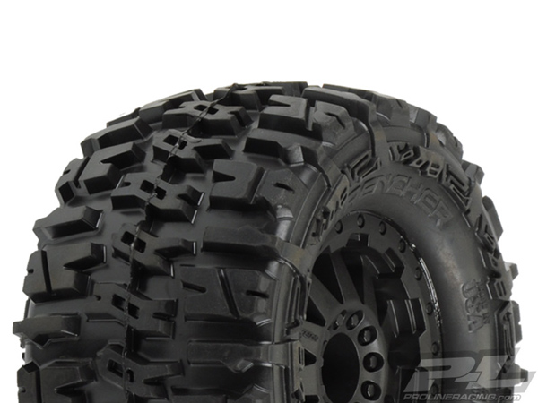 Pro-Line Trencher 2.8 (Traxxas Style Bead) All Terrain Tyres Mounted PL1170-15
