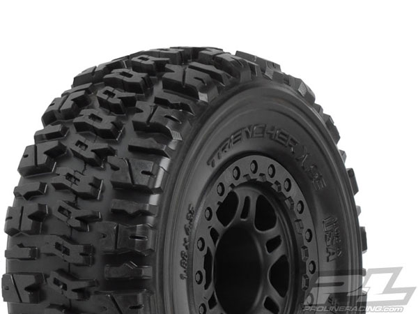 Pro-Line Trencher X SC 2.2/3.0 M2 (Medium) Tyres Mounted for Slash 4x4 PL1190-22