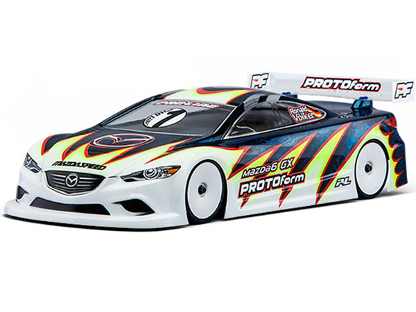 Protoform  Mazda 6 GX Light Weight Clear Bodyshell PL1536-25