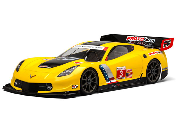 Protoform Chevrolet Corvette C7.R For 1:8th GT LWB PL1546-40