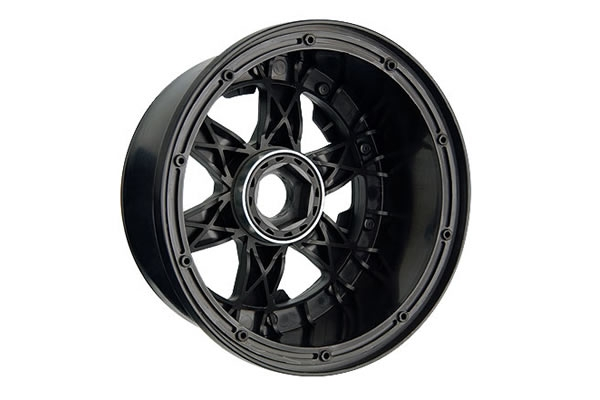 Image Of Pro-Line Desperado Bead-Loc Front Wheel (Black)- Baja 5B