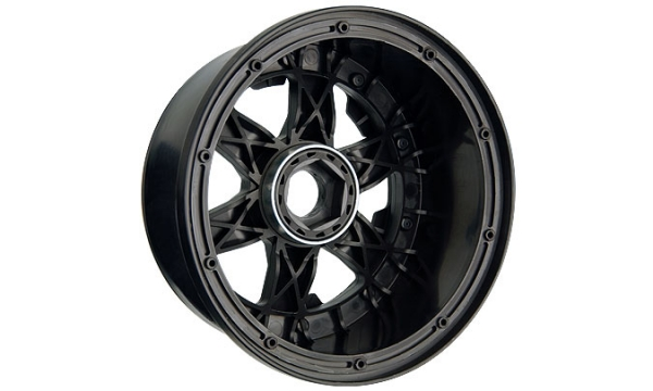 Image Of Pro-Line Desperado Bead-Loc Rear Wheel (Black)- Baja 5B