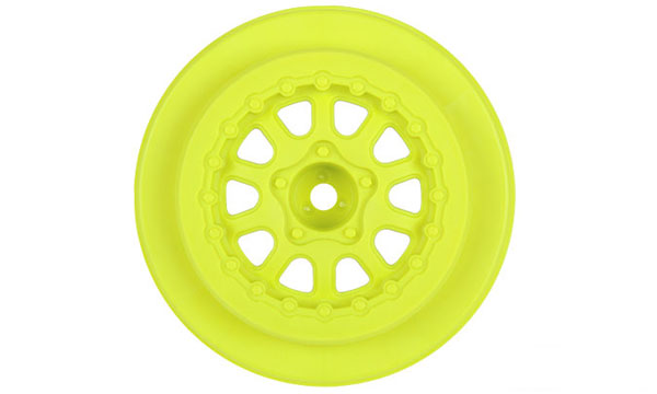 Pro-Line Renegade 2.2/3.0 Yellow Wheels for SC10 Front PL2726-02