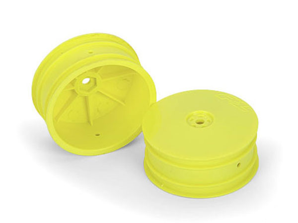 Pro-Line Velocity 2.2 4WD Hex Front Yellow Wheels for B44.1 PL2741-02