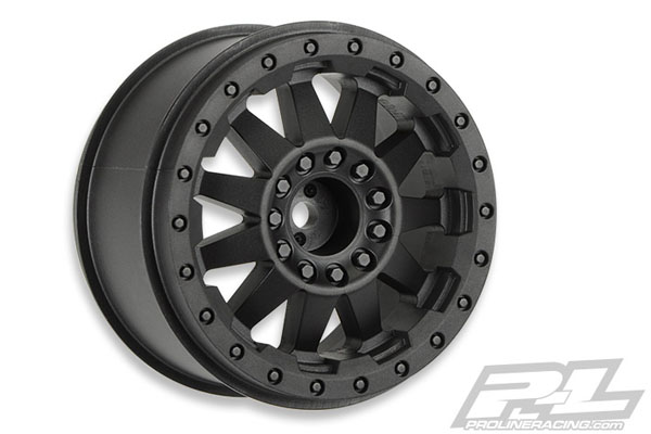 Pro-Line  F-11 2.8 (Traxxas Style Bead) Black Wheels for JATO Rear, Nitro Stampede/Rustler Rear /Electric Front PL2744-03