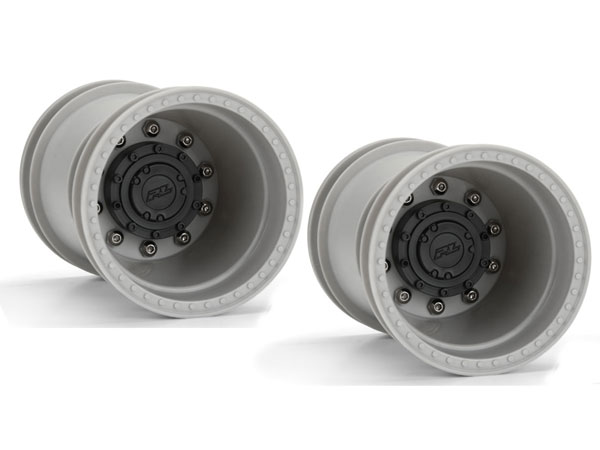 Pro-Line Brawler Clod Buster 2.6'' Gray Wheel with Stock Offset PL2759-03
