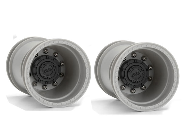 Pro-Line Brawler Clod Buster 2.6'' Gray  Wheels +17.5mm Wider Offset PL2760-03