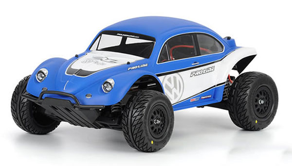 Pro-Line Volkswagen Full Fender Baja Bug Clear Body PL3238-63