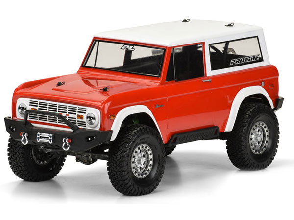 Pro-Line 1973 Ford Bronco Clear Body for Scale and Rock Crawler PL3313-60