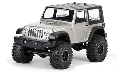 Pro-Line 2009 Jeep Wrangler Rubicon Clear Body PL3322-00