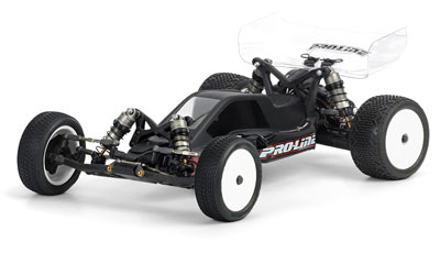 Pro-Line Bulldog Bodyshell For Rear Motor Losi 22 PL3358-00