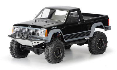 Pro-Line Jeep Comanche Full Bed Clear Body  PL3362-00