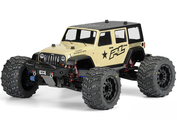 Pro-Line Jeep Wrangler Unlimited Rubicon Clear Body PL3405-00