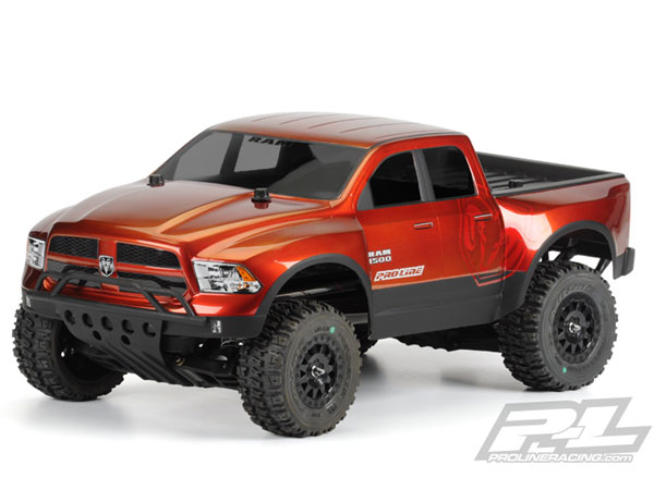 Pro-Line 2013 Ram 1500 True Scale Clear Body PL3420-00