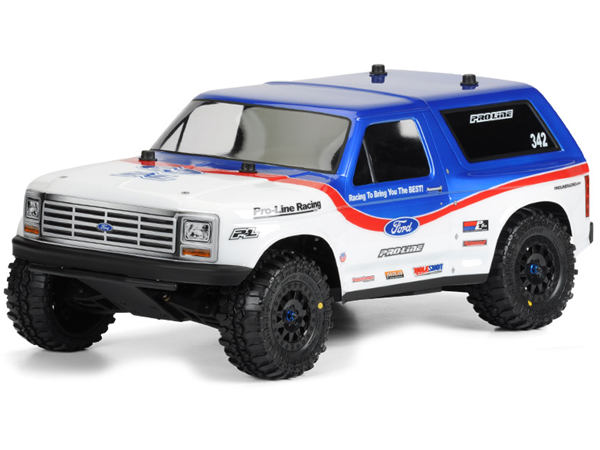 Pro-Line 1981 Ford Bronco Clear Body PL3423-00
