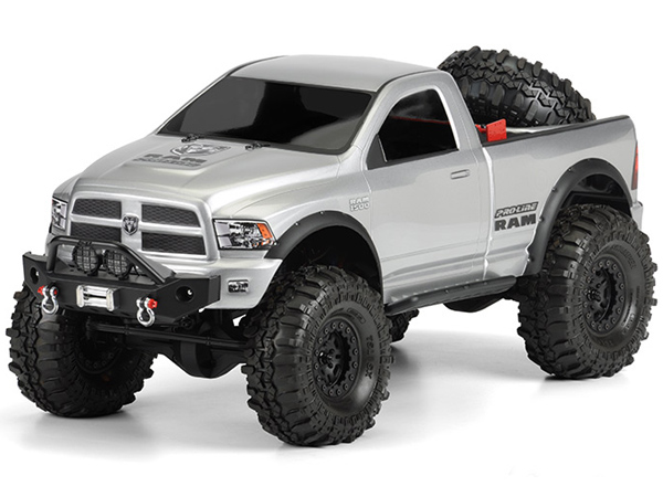 Pro-Line RAM 1500 Clear Body for 1:10 Scale Crawlers PL3434-00