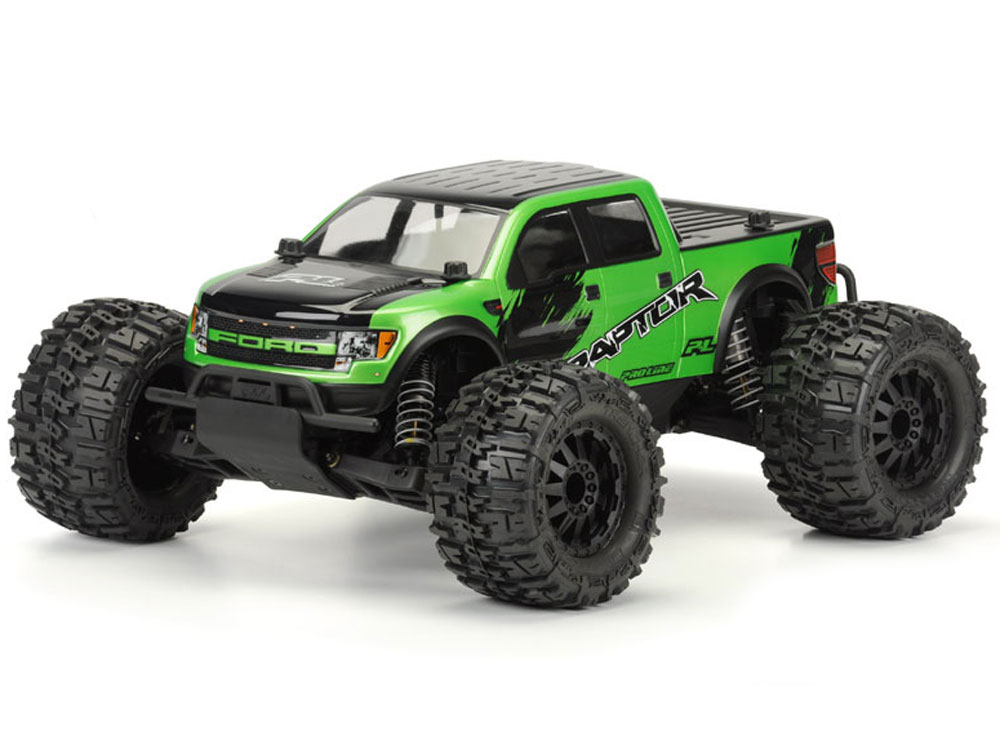 Pro-Line Ford F-150 Raptor SVT Clear Body for Pro-MT PL3440-00
