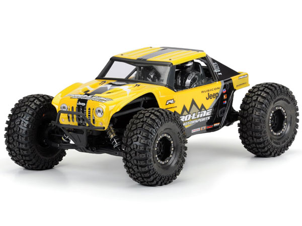 Pro-Line Jeep Wrangler Rubicon Clear Body for Axial Yeti PL3452-00