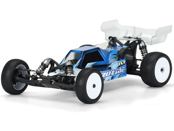 Pro-Line Pre-Cut Phantom Clear Body for TLR 22 2.0 PL3455-17