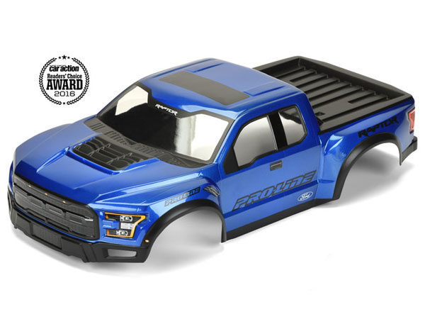 Pro-Line Pre-Painted and Cut 2017 Ford F-150 Raptor True Scale Body (Blue) PL3461-13