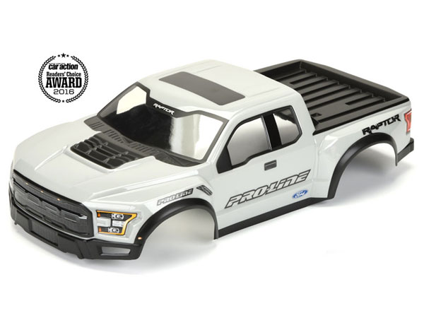 Pro-Line Pre-Painted and Cut 2017 Ford F-150 Raptor True Scale Body (Grey) PL3461-14