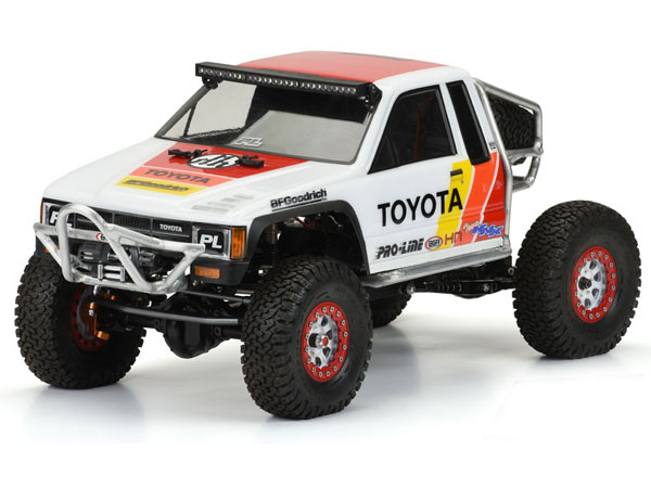 Pro-Line 1985 Toyota HiLux SR5 Clear Body (Cab Only) PL3466-01